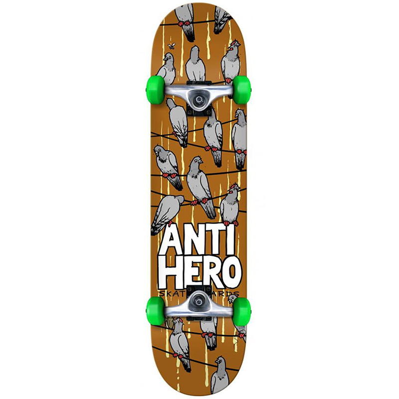 Anti Hero On A Wire SM Complete Skateboard 7.5