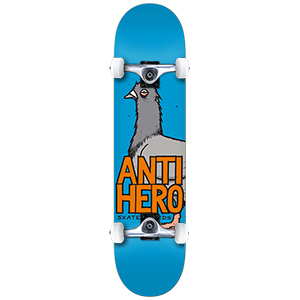 Anti Hero Pigeon Hero Mini Complete Skateboard 7.38