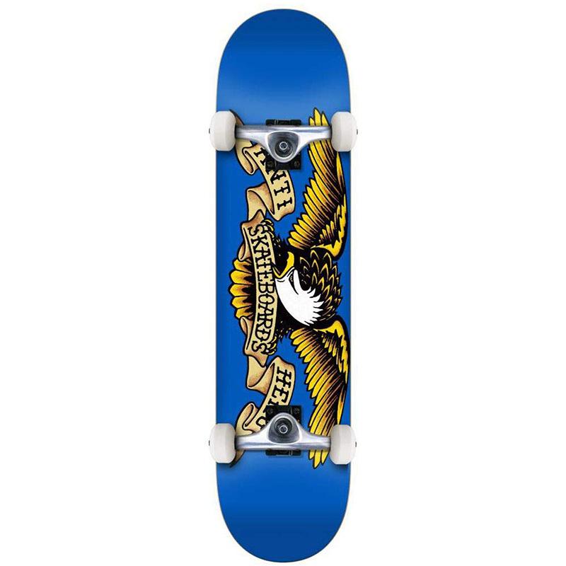 Anti Hero Team Eagle Mini Complete Skateboard 7.38