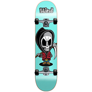 Blind Bone Thug Complete Skateboard Blue 7.5