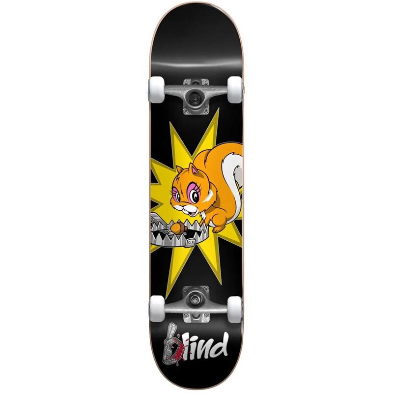 Blind Fur Muncher FP Complete Skateboard Black 7.875
