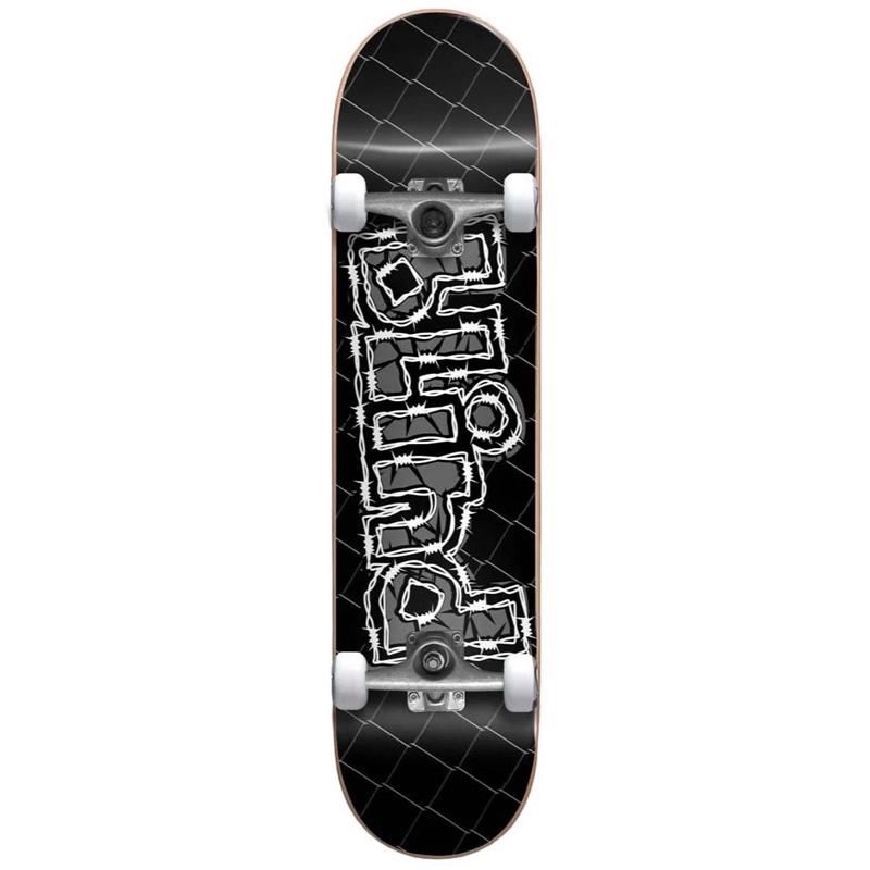 Blind OG Grundge Logo First Push Complete Skateboard Black 8.0