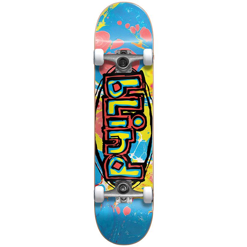 Blind OG Oval FP Premium Complete Skateboard Multi 7.625