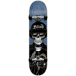 Blind Reaper E Premium Youth Complete Skateboard Blue 7.0