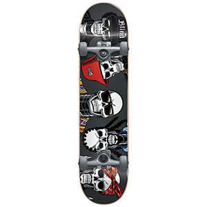 Blind Reaper Rappers FP Complete Skateboard Charcoal 7.75