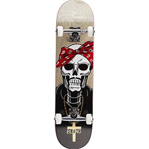 Blind Reaper Veneer Premium Complete Skateboard Grey 7.75