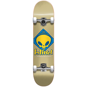 Blind Retro Reaper Scout FP Complete Skateboard Tan 7.625