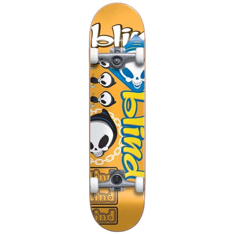Blind Tantrum First Push Complete Skateboard Orange 8.0