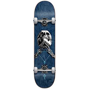 Blind Tribute Rosary FP Premium Complete Skateboard Blue 8.0