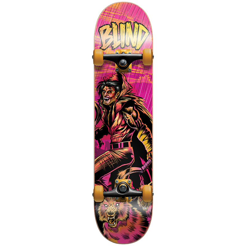 Blind Wolf Warrior Premium Complete Skateboard 8.0