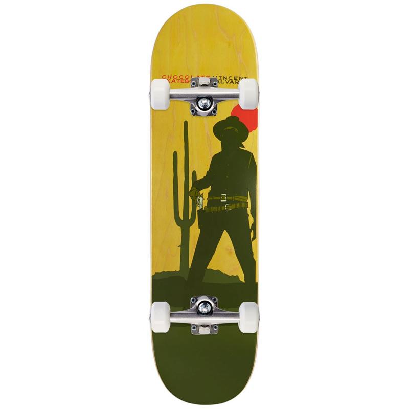 Chocolate Alvarez Cowboy Complete Skateboard 8.0
