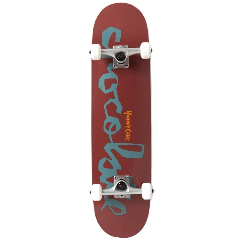 Chocolate Cruz Chunk Complete Skateboard 8.0