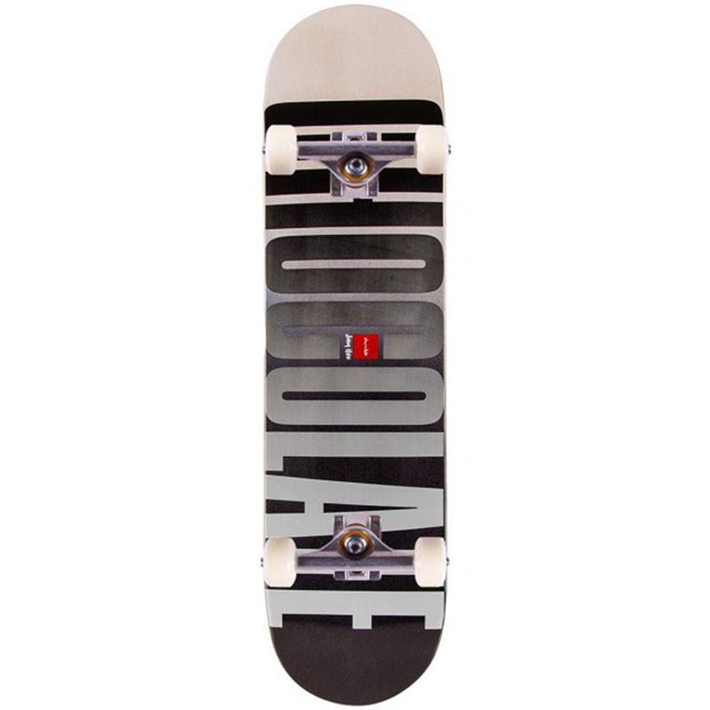 Chocolate HSU League Fade Complete Skateboard 7.75