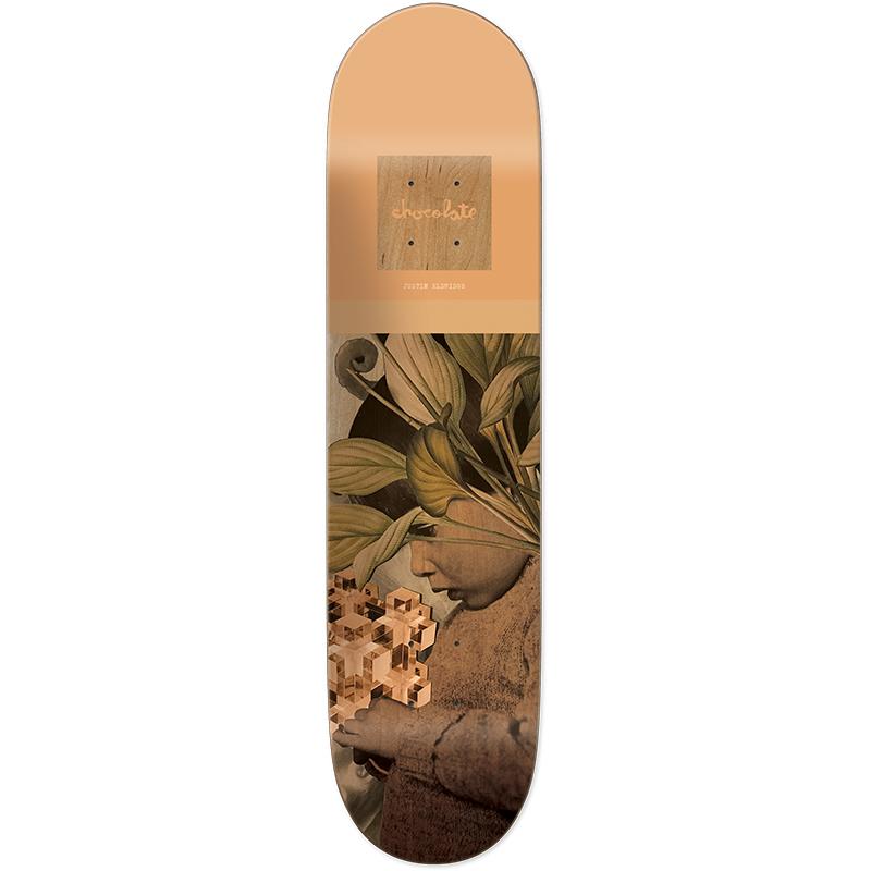 Chocolate Justin Eldridge Dru Colage Skateboard Deck 8.25