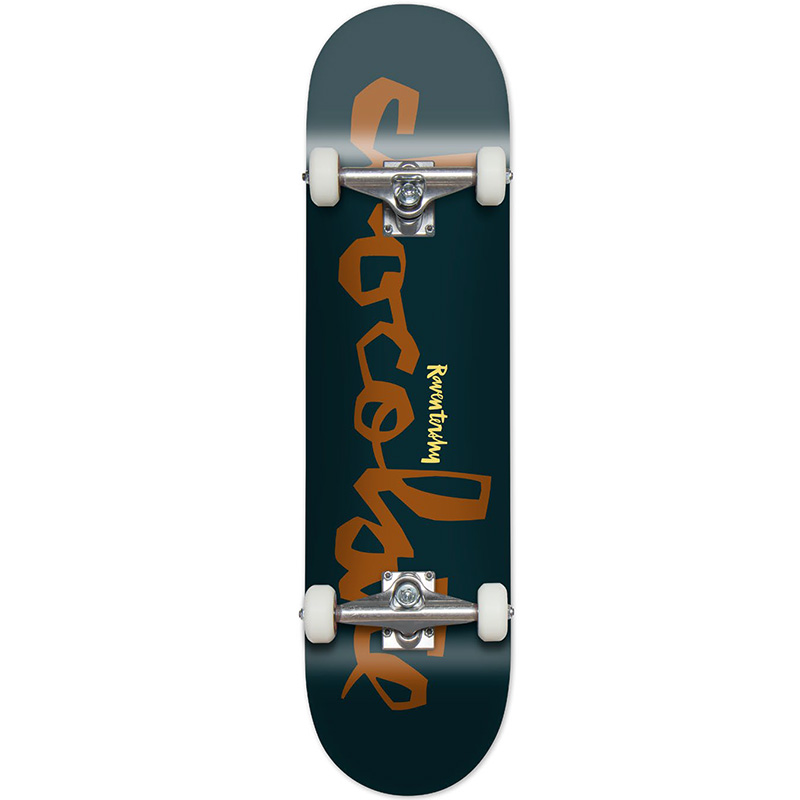 Chocolate Raven Tershy Chunk Complete Skateboard 7.75