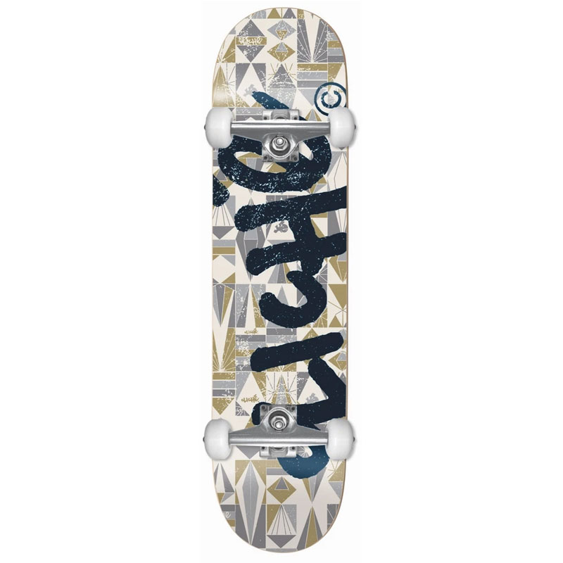 Cliche Diamond First Push Complete Skateboard Olive/Black 8.125