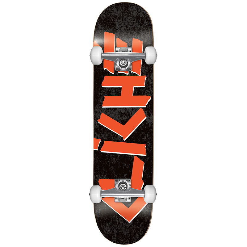 Cliché Scotch FP Complete Skateboard Black/Red 7.75