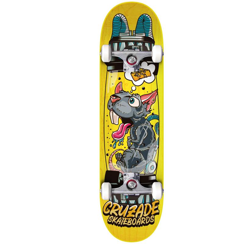 Cruzade Clone Complete Skateboard 8.25