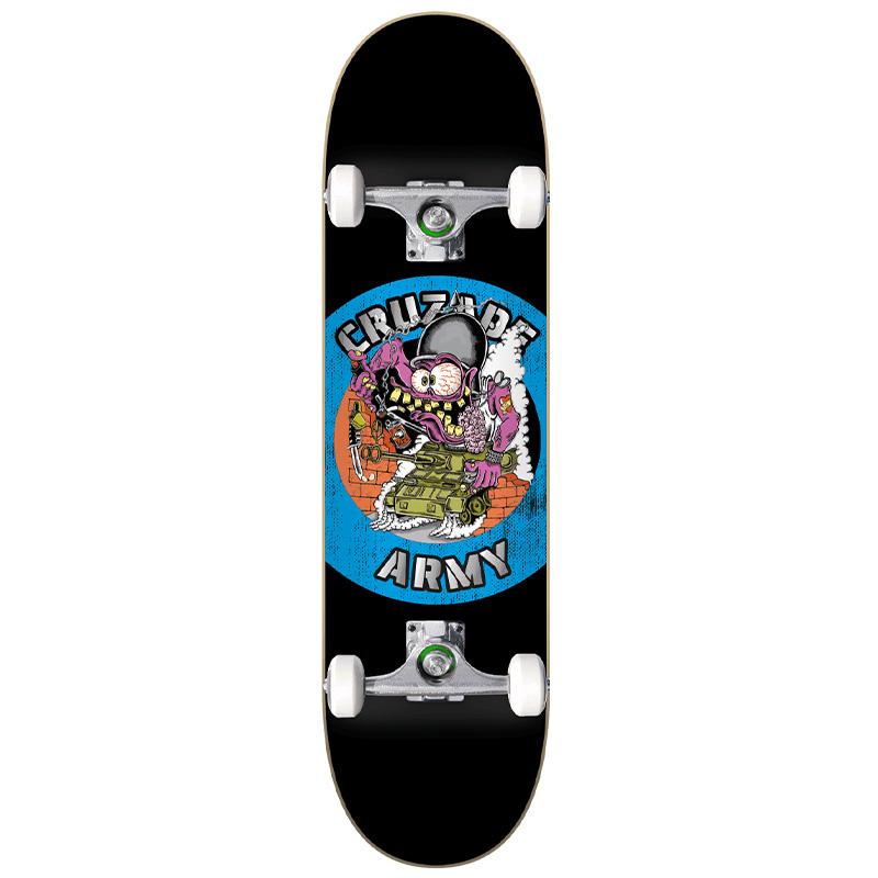 Cruzade CZD Army Tank Complete Skateboard 8.0