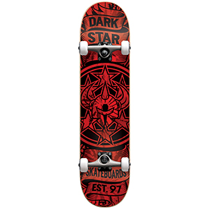 Darkstar Civil FP Complete Skateboard Red 7.625