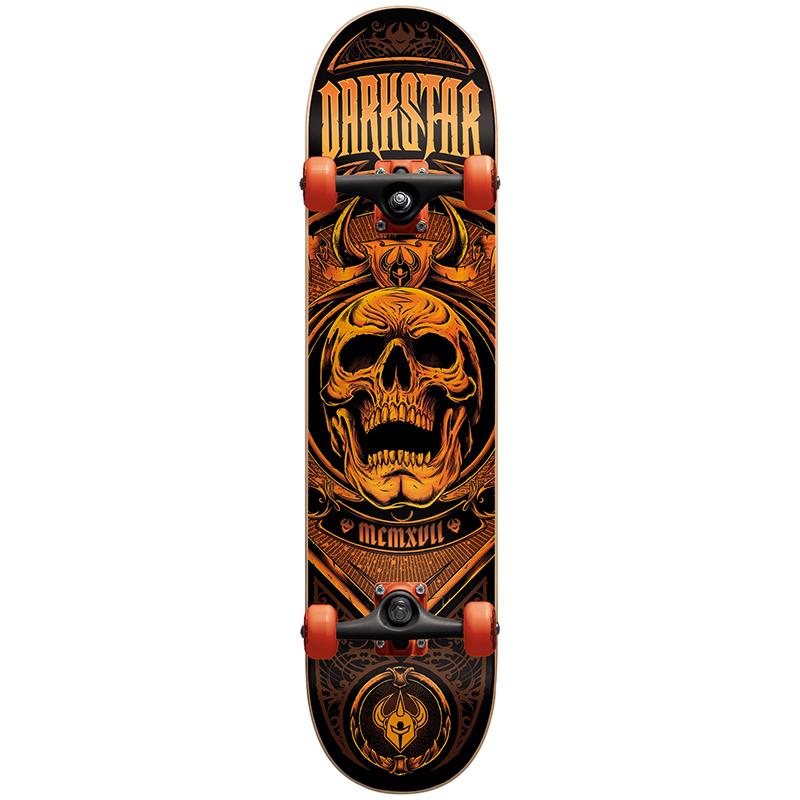 Darkstar Crest Premium Complete Skateboard 7.75