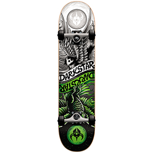 Darkstar Early Bird FP Complete Skateboard Neon Green (with soft wheels) 7.5