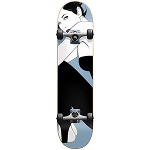 Darkstar Full Nagel FP Complete Skateboard Metallic Dust 7.75