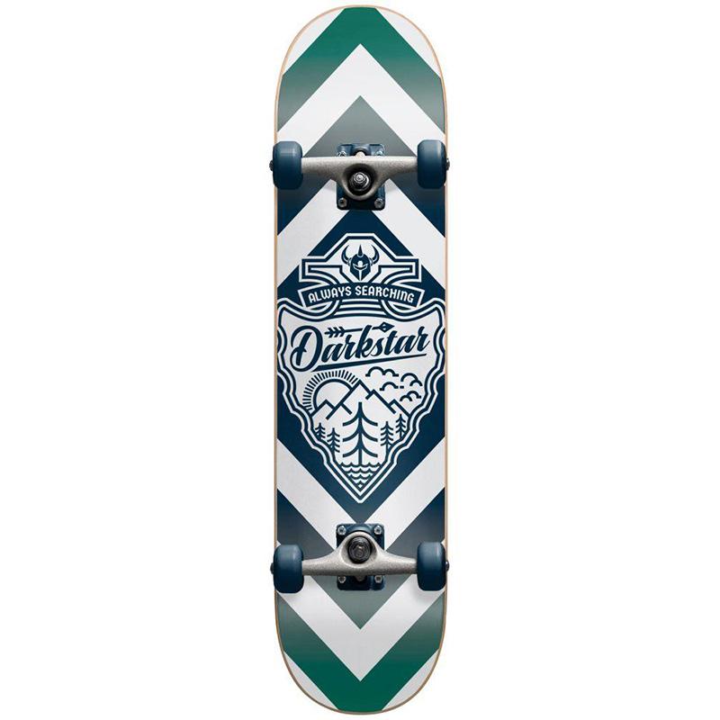 Darkstar Lockup FP Complete Skateboard Royal Blue 7.875
