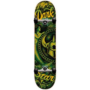 Darkstar Mermaid Complete Skateboard Kelp Green -with soft wheels- 7.625
