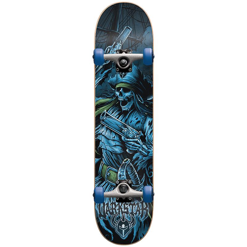 Darkstar Pirate Blue FP Complete Skateboard 7.75