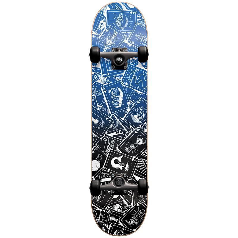 Darkstar Player FP Premium Complete Skateboard Blue 7.75