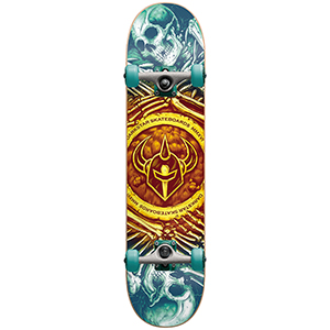 Darkstar Remains FP Complete Skateboard Gold Fade 7.75