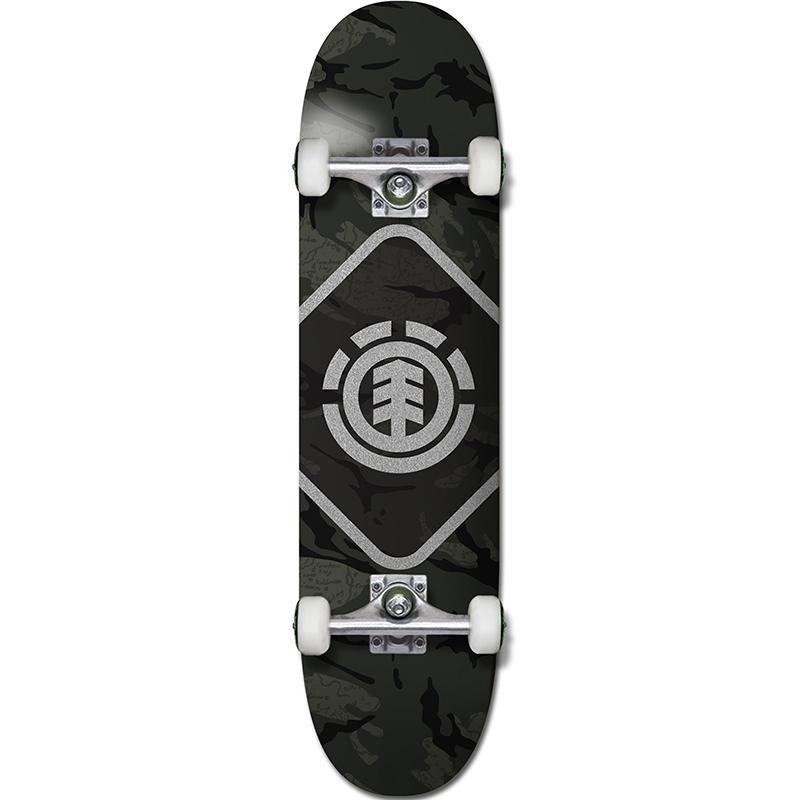 Element Camo Map Complete Skateboard 7.75