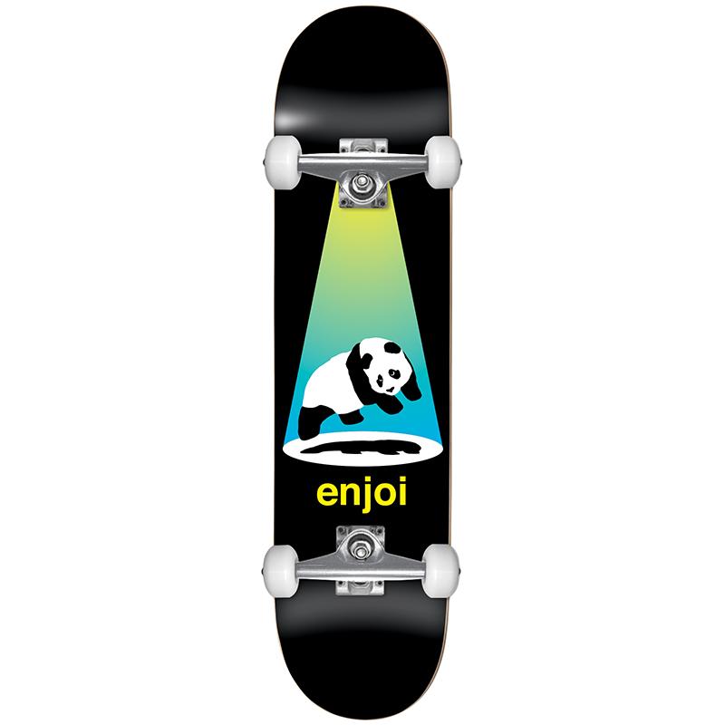 Enjoi Abduction Complete Skateboard FP Yellow/Blue 7.5