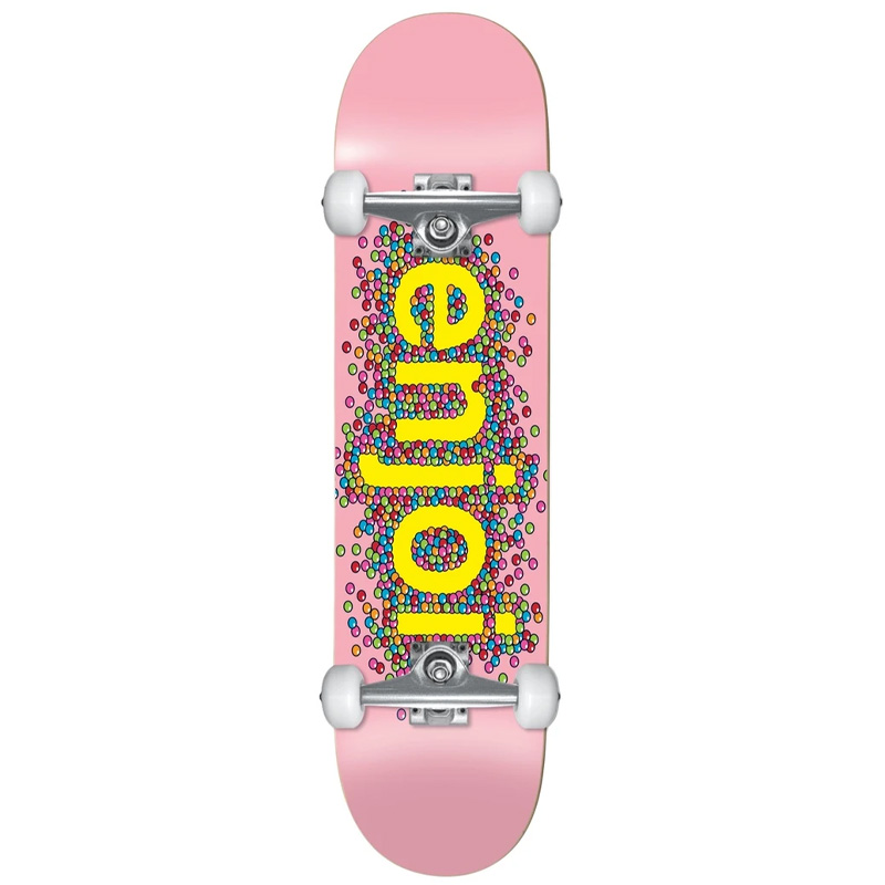 Enjoi Candy Coated First Push Complete Skateboard Pink 8.25