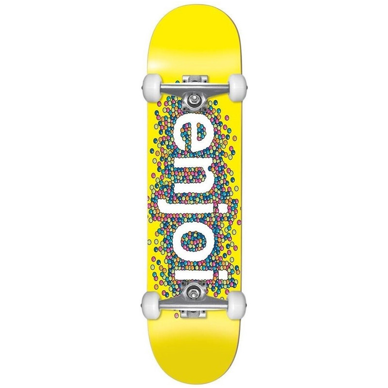 Enjoi Candy Coated First Push Complete Skateboard Yellow 8.25
