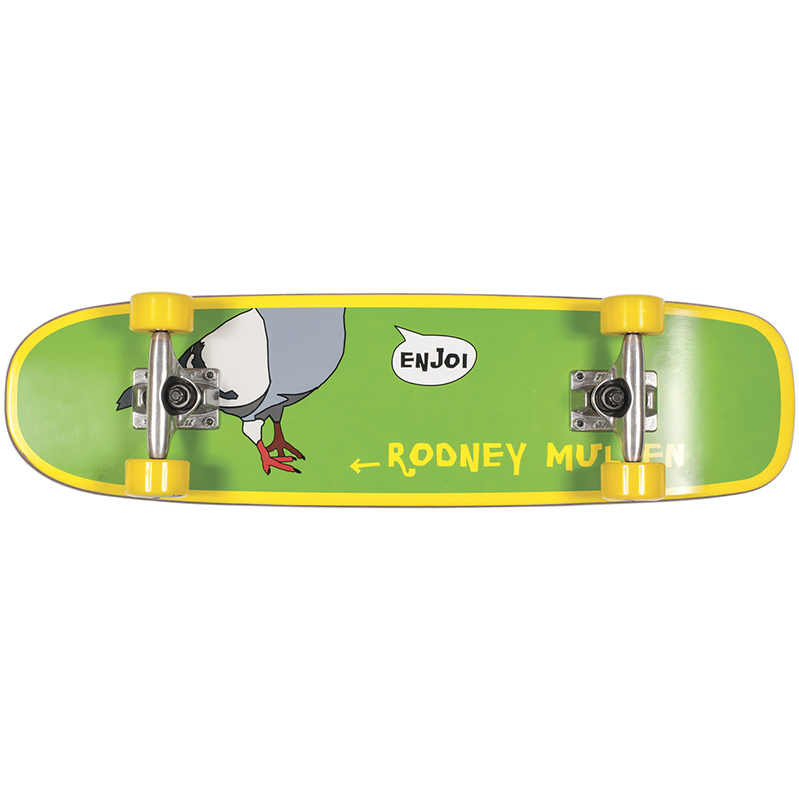Enjoi Mullen Freestyle Green Complete Skateboard MID 7.375