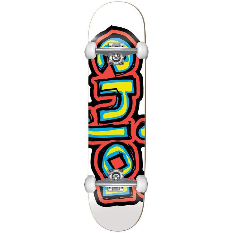 Enjoi Visionless FP Complete Skateboard White 7.625