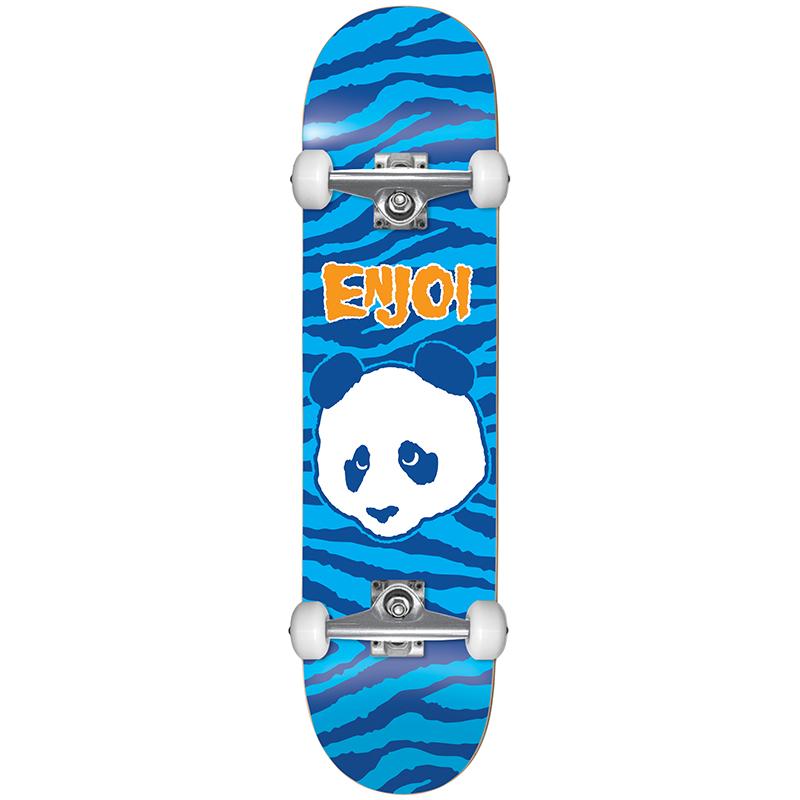 Enjoi Zebra Punk Complete Skatebaord FP Blue 8.0