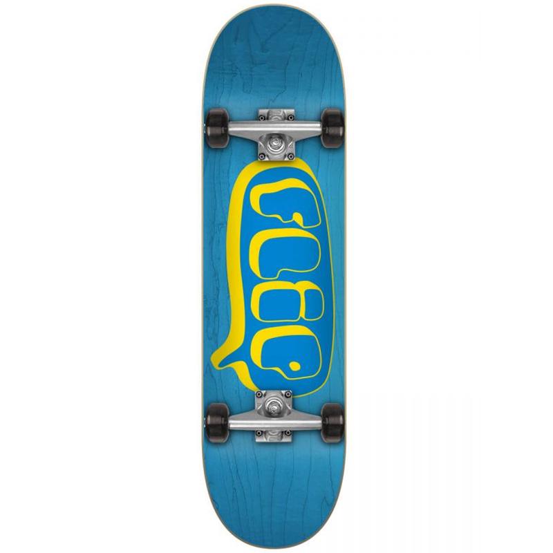Flip Bubble Complete Skateboard Blue 7.75