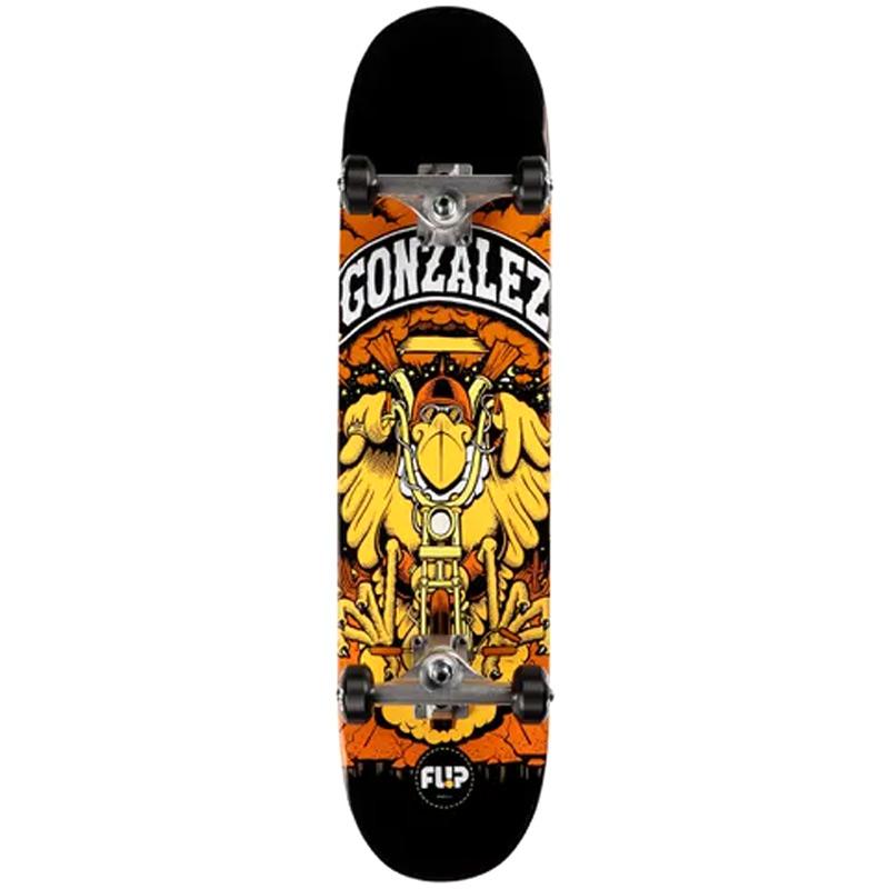 Flip Gonzalez Comix Complete Skateboard 7.88