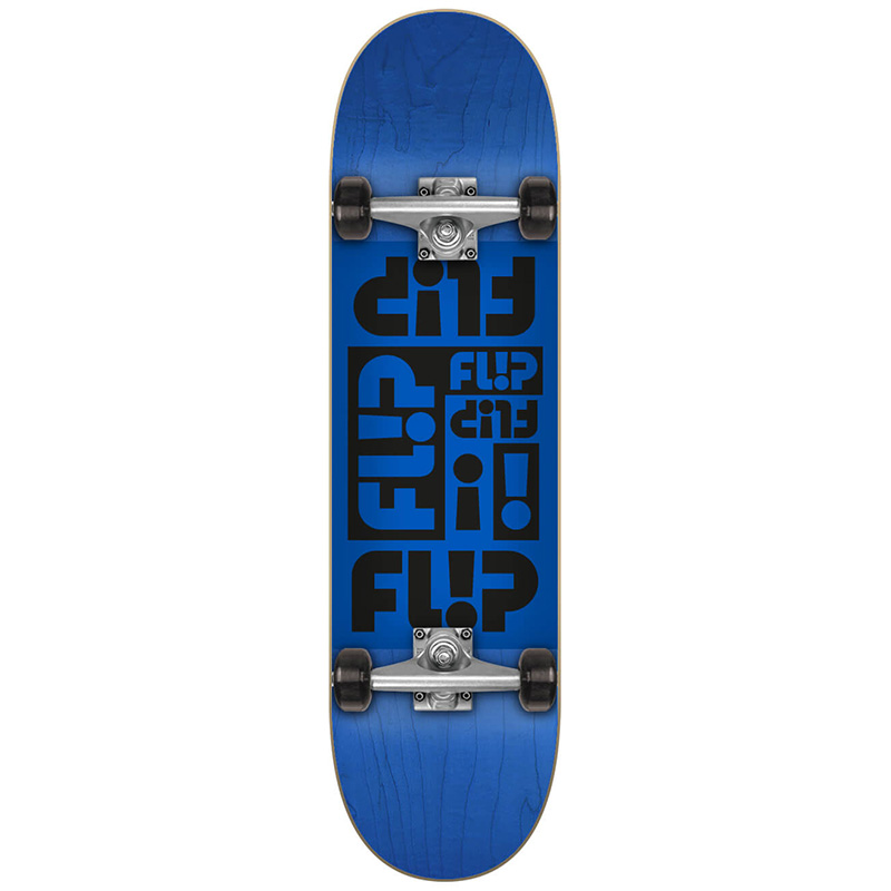 Flip Multi Odyssey Complete Skateboard Blue 7.75
