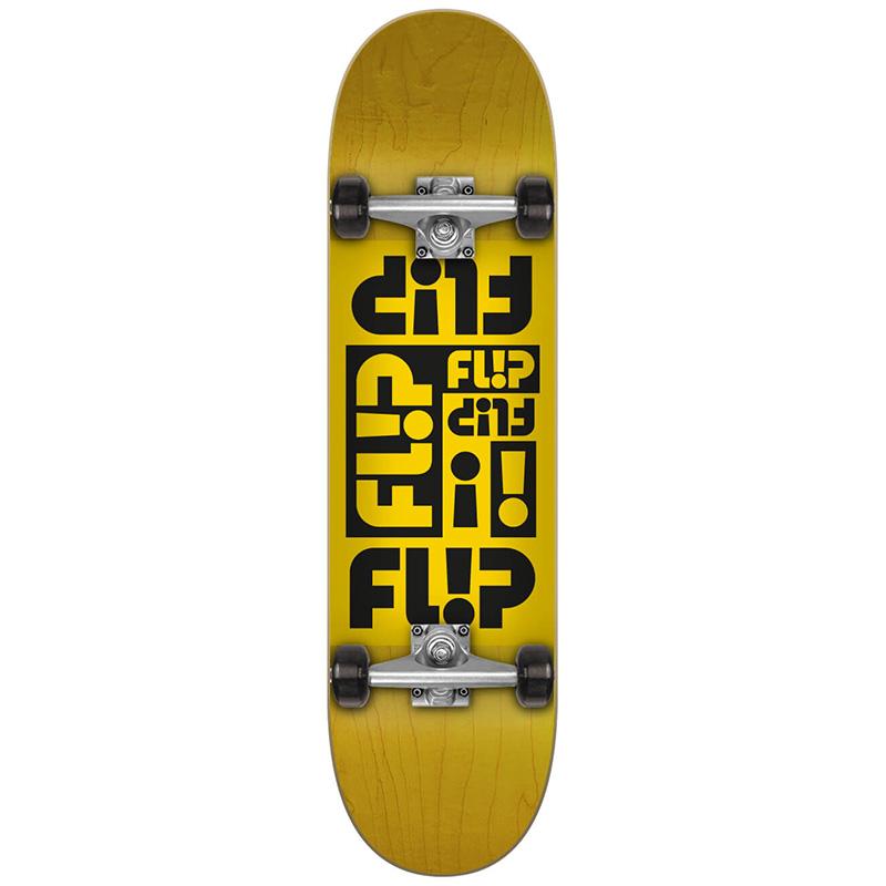 Flip Multi Odyssey Complete Skateboard Yellow 7.87