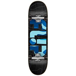 Flip Odyssey Complete Skateboard Camo Blue 7.75