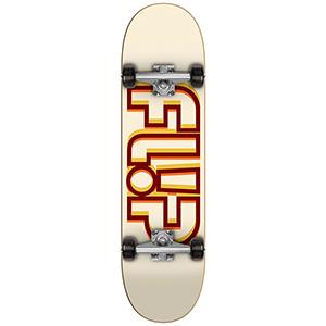 Flip Odyssey Depth Complete Skateboard Beige 7.75