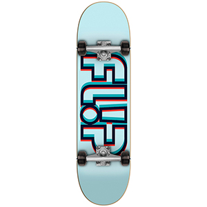 Flip Odyssey Depth Complete Skateboard Blue 7.88