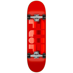 Flip Odyssey Forged Complete Skateboard Red 8.0