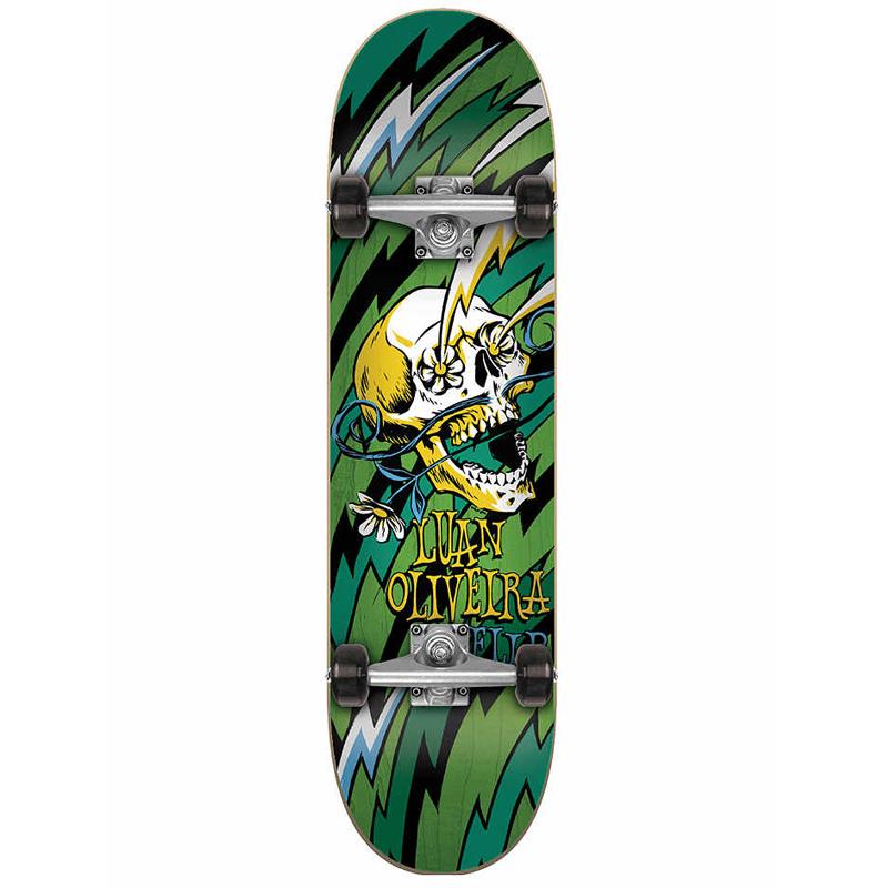 Flip Oliveira Blast Complete Skateboard Green 7.75