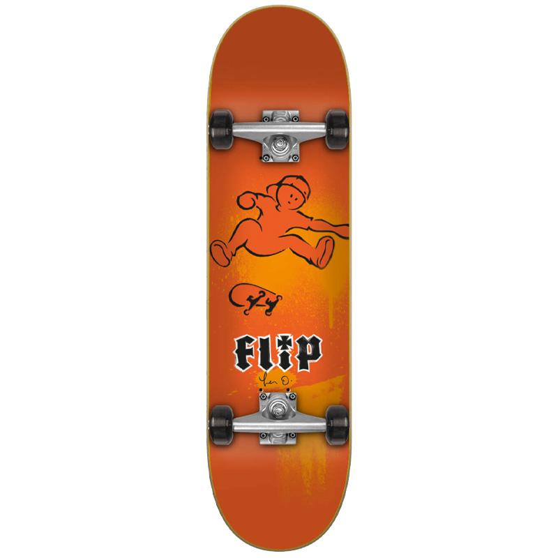 Flip Oliveira Doughboy complete Skateboard 7.87