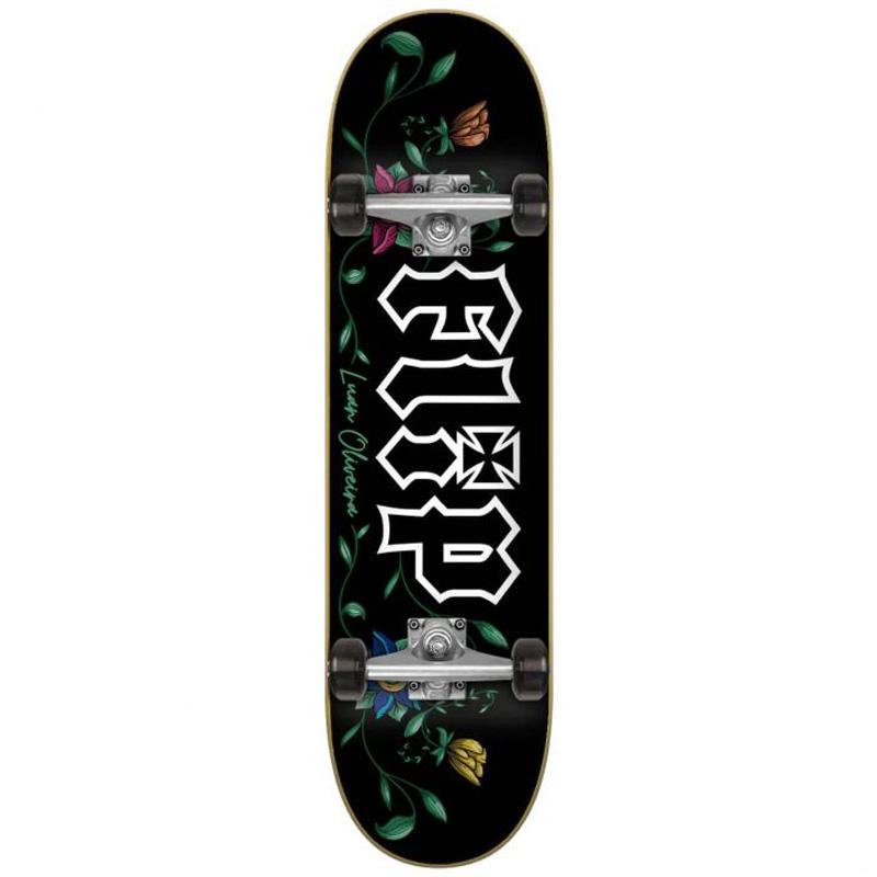 Flip Oliveire Garden Complete Skateboard 8.0